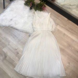 Alice and Olivia white goddess dress